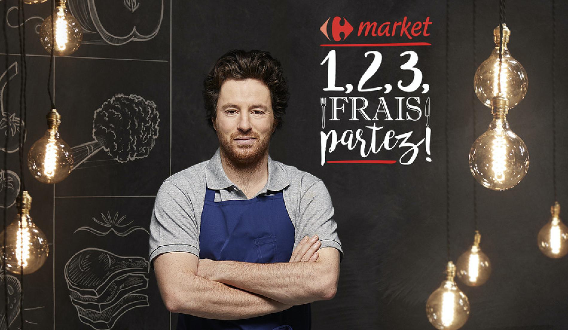 """""""1,2,3 Frais partez ! – Spécial Producteur"""" avec Carrefour"""