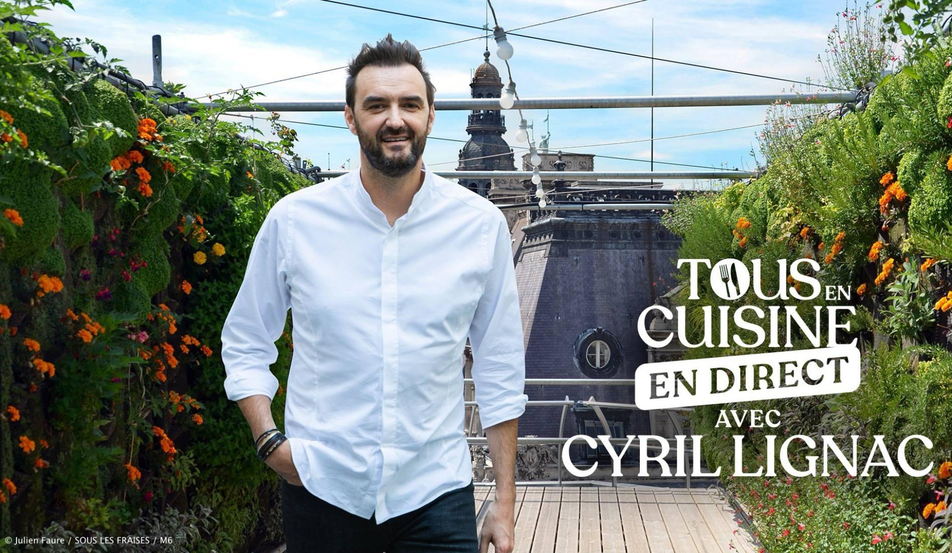 Tous en cuisine en direct avec Cyril Lignac